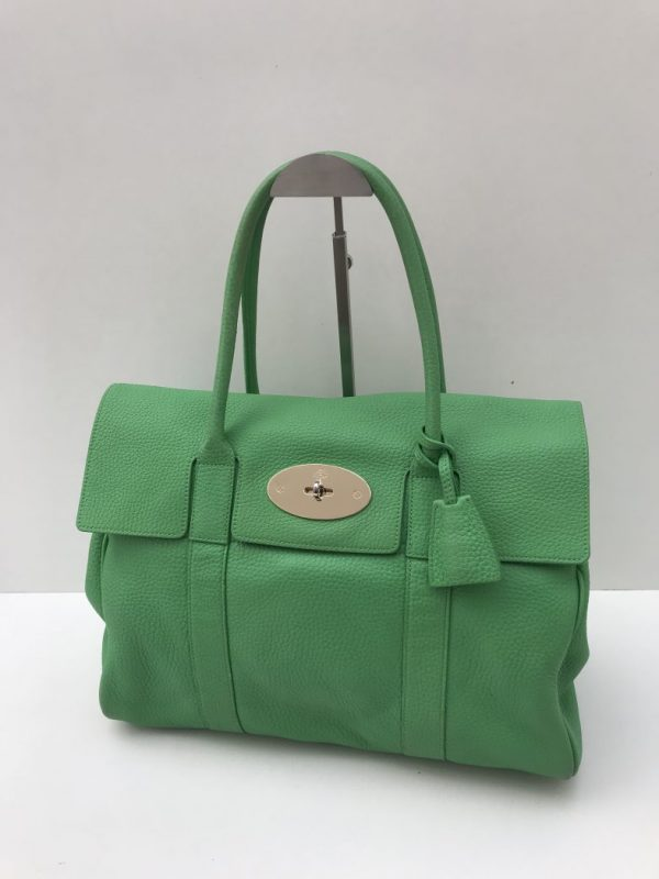 cec8d6e59957 Mulberry Green Classic Bayswater. Sale!